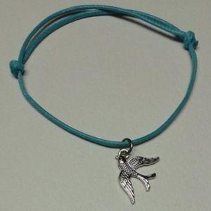 Swallow Bird Charm Bracelet